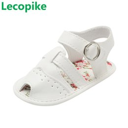 $enCountryForm.capitalKeyWord Australia - Lecopike Summer Baby Gilrs Shoes PU Leather Water Drop Open Sandals Slip Breathable Toddlers Shoes Infant Baby Sandals A20