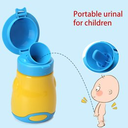 Boys Urinals Australia - 2019 New Portable Chamber Pot For Children Babys Leakage-proof Urinal High-quality Travel Urinal Fashion Chamber Pot