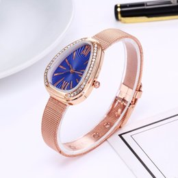 Glasses Trade Australia - 2018 new WISH alloy bracelet wrist Guo Huang network foreign trade hot explosion models ladies Korean watch birthday gift ladies watch