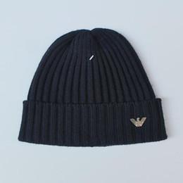 00505ac7b3e 2018 mens designer hats bonnet winter beanie knitted wool hat plus velvet  cap skullies Thicker mask Fringe beanies 21752