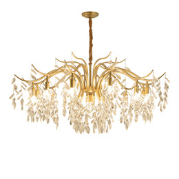 $enCountryForm.capitalKeyWord UK - Modern Crystal Crystal Chandelier Living Room Chandelier Lighting Personality Restaurant Crystal Hanging Lamp Hotel ClothingStore Chandelier