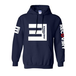 $enCountryForm.capitalKeyWord NZ - 2019 Winter Men's Fleece Hoodies Eminem Printed Thicken Pullover Sweatshirt Men Sportswear Fashion Clothing free shipping wholesale