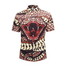 Double Shirt Designs UK - 2019 Italy brand ashion design luxury men's Casual long sleeve shirt fashion designer camisa masculina social embroidery shirt shirts