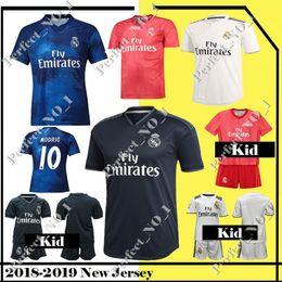 Men s 7 Ronaldo madrid Jersey 20 ASENSIO 9 Benzema Soccer Modric Kroos Sergio  Ramos Bale Marcelo Real Madrid Stitched Top quality jerseys fdf7db770