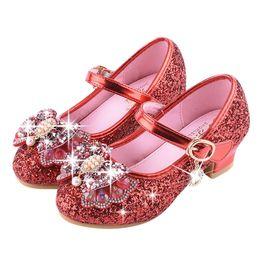 VT01 Baby Girls Pearl Crystal Bling Bowknot Single Shoes Menina Girl  Princess Shoes sapato infantil zapatos de bebe 3372af3e2e3e