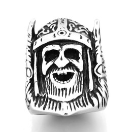 Stainless Steel Indian Head Rings Australia - STAINLESS STEEL punk vintage mens or womens JEWELRY Tribal Chief Egyptian Pharaoh Head Ring GIFT FOR BROTHERS SISTERS FSR20W45