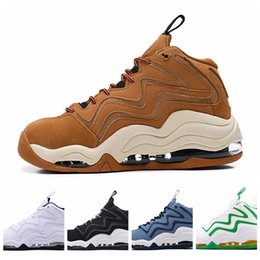 inch blue shoes UK - 2020 Scottie Pippen 1 Uptempo 94 OG Wheat Work Vast Grey Sports Basketball Shoes Good quality Black White Blue Mens Sneakers 40 46