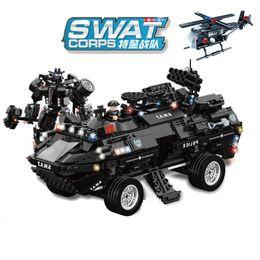 $enCountryForm.capitalKeyWord Australia - 1044pcs Children's Educational Building Blocks Toy Compatible City Robotic Armor Raptors Amphibious Armored Vehicle MX190731
