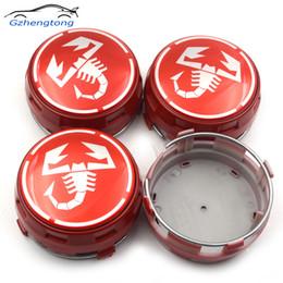 $enCountryForm.capitalKeyWord NZ - Gzhengtong 4pcs Lot Scorption Logo Car Styling 75MM ABS Car Covers Sticker Car Wheel Center Caps Wheel Badges