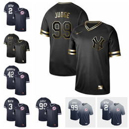 baseball mantle NZ - New York Jersey Yankees 3 Babe Ruth 99 Aaron Judge 7 Mickey Mantle 2 Derek Jeter Baseball Jerseys customized please leave a message