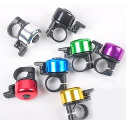 loud bicycle bell Australia - Explosion Models Aluminum Alloy Loud Sound Bicycle Bell Handlebar Safety Horn Ring Bike Bell Accessories Multi Colors Bicicleta