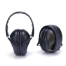Fire direct online shopping - Headset Firing Noise Prevention Tactics Black Earmuff Industry Sound Insulation Modern creative idea Earphone Factory Direct Selling js p1