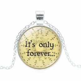 China 2018New Fashion Labyrinth Necklace, It's Only Forever, 13 Hour Clock, Fantasy Jewelry, Movie Memorabilia, Keepsake Pendant supplier fantasy pendants suppliers