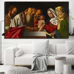 $enCountryForm.capitalKeyWord Australia - Circumcision Of Christ Jesus Canvas Painting Living Room Home Decor Modern Wall Art Painting Poster Picture For Living Room Accessories