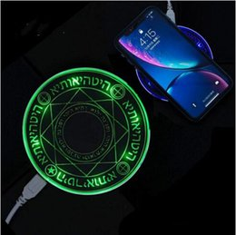 $enCountryForm.capitalKeyWord Australia - Magic array 10W Quick Wireless Charger Fast Charging Pad for iPhone X XS MAX XR Samsung S9 S10 plus S10e Cell Phone Charger