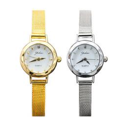 $enCountryForm.capitalKeyWord Australia - Women's Watch with Silver Fine Strap Ladies' Sexy Small Decoration Gold Fashion Women's Watch Net belt watch