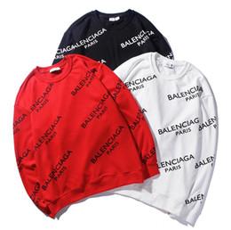 Short Sleeved Sweater men online shopping - Hip hop letter hip hop hiphop long sleeved sweater oversize loose necked sweater M XXL