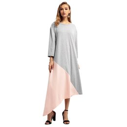 8e1184913de Middle Eastern Clothing NZ - Women s Autumn Winter Models Middle Eastern  Clothes Muslim Large Size Dress