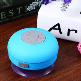 $enCountryForm.capitalKeyWord Australia - Mini Portable Subwoofer Shower Waterproof Speaker Wireless Bluetooth Car Handsfree Receive Call Music Suction Mic For iPhone Samsung