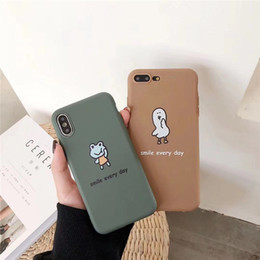 Discount ducks iphone - Mobile Phone Shell Cute Little Frog Cartoon Duck Creative Personality Drop High Quality Mobile Phone Case For ipnone X X