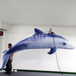 inflatable show Australia - inflatable sea animal model inflatable dolphin model for trade show