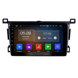Discount toyota rav4 gps radio - Quad-core 9 Inch Android 9.0 GPS Navi Car Stereo for 2013 2014 2015-2018 Toyota RAV4 LHD with Bluetooth WIFI support car