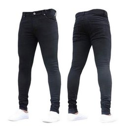 $enCountryForm.capitalKeyWord Australia - NIBESSER mens brand Skinny jeans Pant Casual Trousers 2018 denim black jeans homme stretch pencil Pants Plus Size streetwear 3XL