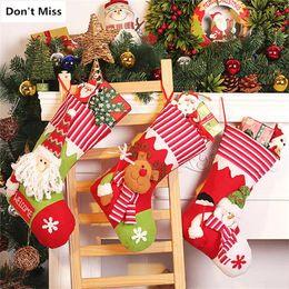 $enCountryForm.capitalKeyWord Australia - Hot Christmas Tree Ornaments Santa Claus Snowman Elk Christmas Stockings Birthday Gift Bags Xmas Party Decoration Candy Gift Holders