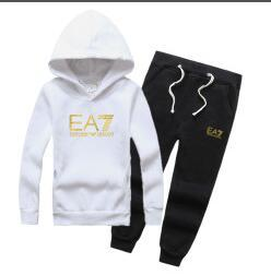 $enCountryForm.capitalKeyWord Australia - New Baby Boys And Girls Suit Brand Tracksuits 2 Kids Clothing Set Hot Sell Fashion Spring Autumn Children's 2pcs Cotton Clothing Sets 3-8 Ag
