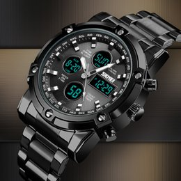 $enCountryForm.capitalKeyWord Australia - Skmei Digital Watch Men Quartz Sport Watch Luxury Business Stainless Steel Strap Men Watches Waterproof Clock Reloj Hombre 2018 Y19052301