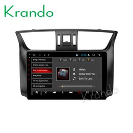 "Nissan Audio Australia - Krando Android 8.1 9"" IPS Full touch car Multimedia player for Nissan Sentra 2012+ Bluebird Sylphy 2012+ audio player gps wifi car dvd"