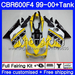 $enCountryForm.capitalKeyWord Australia - Bodys +Tank For HONDA CBR 600 F4 FS CBR 600F4 CBR600F4 99 00 Light yellow hot 287HM.28 CBR600FS CBR600 F 4 CBR600 F4 1999 2000 Fairing kit