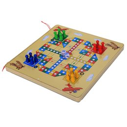 $enCountryForm.capitalKeyWord UK - 2 In 1 Magnetic Maze With Flying Chess Double-faced Labyrinth Maze Educational Interactive Toys, City