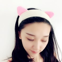 Coral Hair Accessories Australia - Hot Sale Hair Accessories Hairband Turban Coral Fleece Soft Bow Headband Hair Bands for Women Hair Holder Headwear
