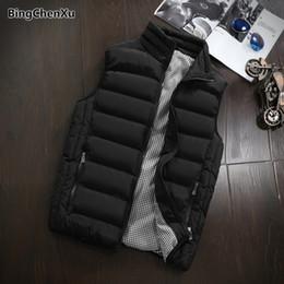 $enCountryForm.capitalKeyWord Australia - Winter Cotton-Padded Men's Vest Warm Windbreak Outwear Thicken Waistcoat Sleeveless Motorcycle Jacket Mens Outdoors Vests 1396