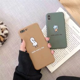 ducks iphone 2019 - New Mobile Phone Shell Cute Little Frog Cartoon Duck Creative Personality Drop High Quality Mobile Phone Case For ipnone
