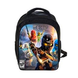 Kids 3D Cartoon School Bags Boys Girls Backpacks Lego Ninjago Pattern School  Bag Kids Daily Backpacks Best Children s Backpack  43175 82a830b2cc2f6