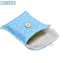 Hot Girls Diapers Australia - New Hot Lovely High Quality Girl Cotton Diaper Sanitary Napkin Package Bag Storage Organizer