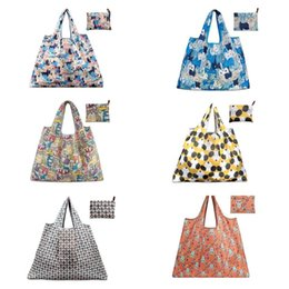 Wholesale Heavy Bags Australia - New Men Women Eco Friendly Large Foldable Grocery Tote Bag Heavy Duty Washable Shopping Bag Multifunction Shoulder Handbag