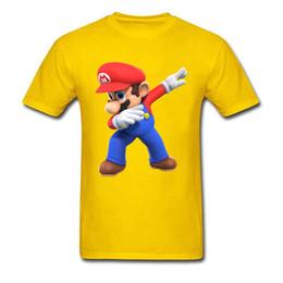 super mario clothing 2019 - 2019 Womens luxury designer t shirts Men T-Shirts 3D Tshirt Super Mario Bros T Shirt Funny Dabbing Mario Printed Clothes