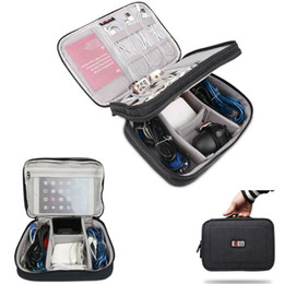 gadget pouch bags Australia - Travel Cable Bag Portable Digital USB Gadget Organizer Pouch kit Case Accessories Supplies Charger Wires Cosmetic Zipper Storage