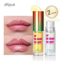 Venta al por mayor de NAGETA labios carnosos labios Conjunto jengibre menta Lip Plump aceite mejora la herramienta del cuidado de Esencia Esencia Aceite Vegetal protector labial
