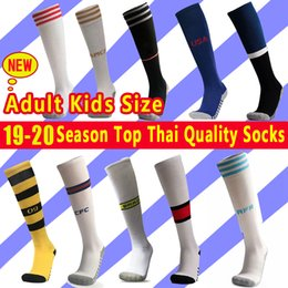 top thai quality soccer jersey Australia - 2019 Top Thai Quality Soccer Jersey Socks Cotton Training Football Shirt Socks,Soccer Team Men's Cotton Sock,Boys Kids Sports Long Socks
