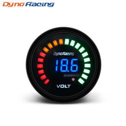 $enCountryForm.capitalKeyWord Australia - Dynoracing 2 inch 52mm 12V Car Digital Voltmeter Volt Gauge Meter 20 LED Black 7.5-20V Volts Volt Car Meter BX101456