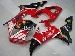 $enCountryForm.capitalKeyWord Australia - 100% Fitment. Injection molding fairing kit for YAMAHA R1 2002 2003 white red black fairings YZF R1 02 03 GF35