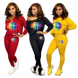 $enCountryForm.capitalKeyWord Australia - Women Designer Sweatsuit Hoodies+Leggings Two Piece Sets Long Sleeve Tracksuit Sportswear Trousers Bodycon Pants Fall Winter Selling 1221