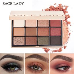$enCountryForm.capitalKeyWord Australia - SACE LADY 12 Color Eyeshadow Palette Make Up Glitter Matte Eye Shadow Making Up Shimmer Pigmented Professional Nude Palette Natural Cosmetic