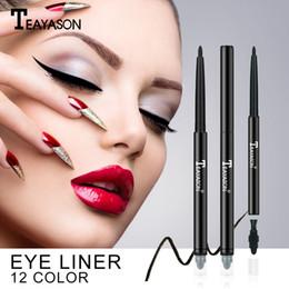 Dark brown eyeliner pencil online shopping - Professional Black Liquid Eyeliner Waterproof Long lasting Make Up Women Comestic Eye Liner Pencil YL1
