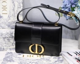 Decorative laDies bags online shopping - Hot Ladies designer shoulder bag Diagonal flip metal decorative ladies bag size