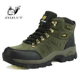 leather gear for men Australia - Tactical Gear Unisex Hiking Shoes New Autumn Winter Brand Outdoor for Men Sport Cool Trekking Mountain Woman Climbing Athletic Shoes